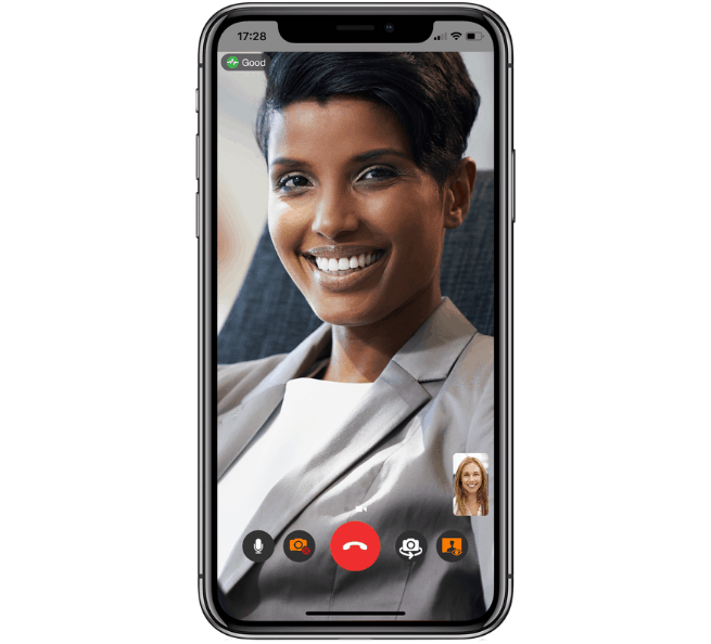 Bria-Video-Call-on-iPhone